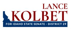 Logo for state political candidate